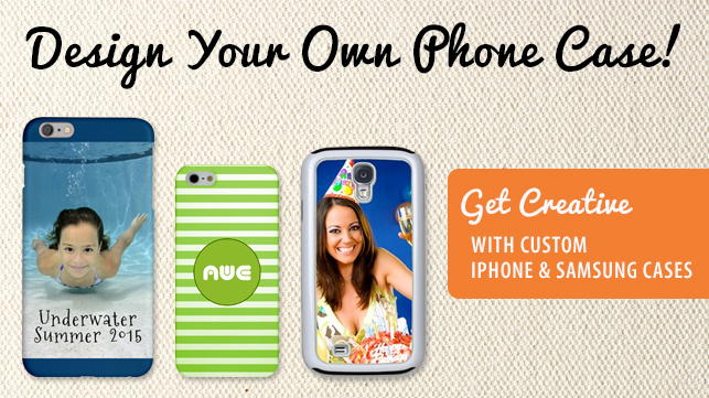 Design Your Own Phone Case! Get Creative with custom iPhone & Samsung Cases!